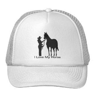 Mujer del caballo - amor de I mi gorra del caballo
