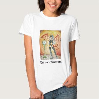 ¡Mujer del demonio! ¡Camiseta! Camisas