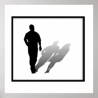 Mujer desaparecida del hombre posters
