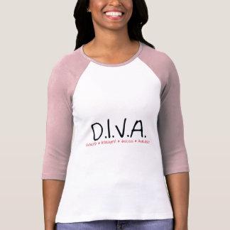 Mujer divorciada DIVA Camiseta