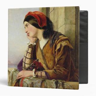 Mujer en el amor, 1856 carpeta 3,8 cm