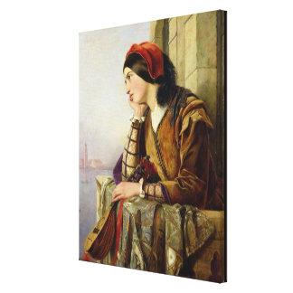 Mujer en el amor, 1856 impresiones en lona estiradas
