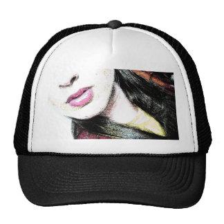 mujer gorras de camionero