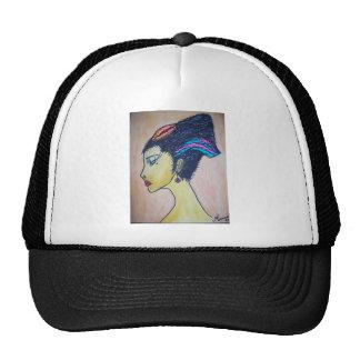 mujer gorra