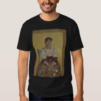 Mujer italiana de Vincent van Gogh Camisetas