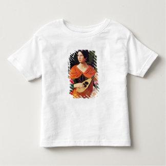 Mujer joven con una mandolina, 1845-47 camiseta