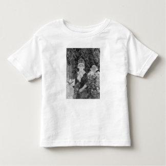 Mujer joven en un jardín, 1883 camisetas