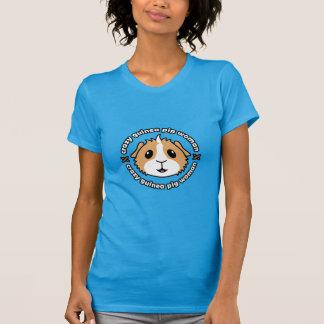 Mujer loca del conejillo de Indias - la camiseta