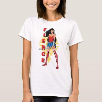 Mujer Maravilla con la espada - feroz Camiseta