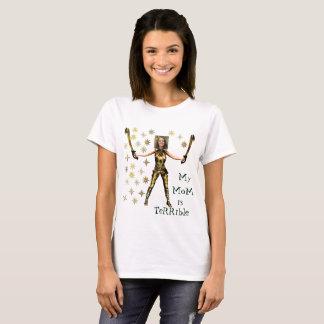 Mujer Maravilla de oro, 2 espadas - Camiseta