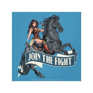 Mujer Maravilla en arte cómico del caballo