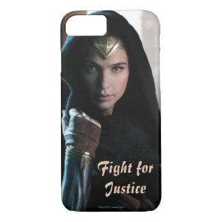 Mujer Maravilla en capa Funda iPhone 7