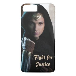 Mujer Maravilla en capa Funda iPhone 7 Plus