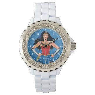 Mujer Maravilla - lucha para la paz Reloj De Pulsera