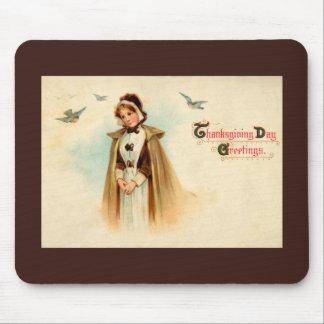 Mujer Mousepad del peregrino Tapetes De Raton
