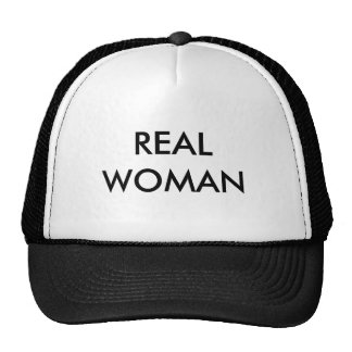 MUJER REAL GORRAS