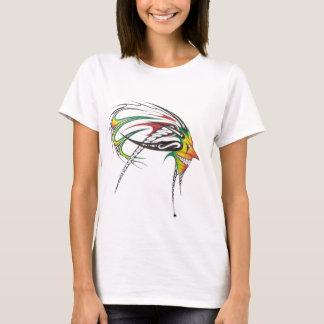 Mujer tribal del hombre de Rasta Camiseta