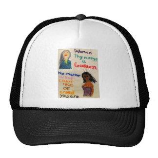 Mujer usted es diosa gorras de camionero