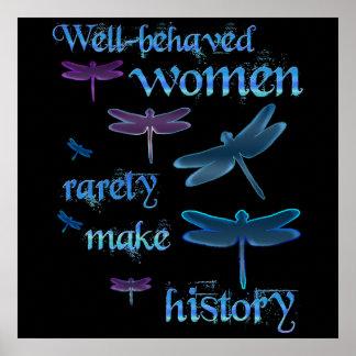 mujeres Bien-comportadas Póster