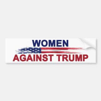 Mujeres contra el triunfo pegatina para coche
