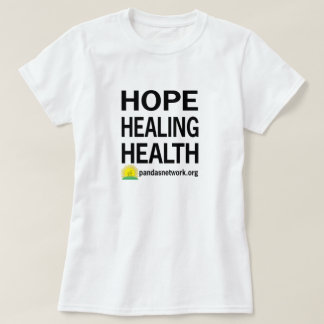 Mujeres curativas de la camiseta de la salud de la