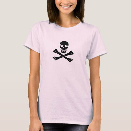 Mujeres de Edward England (cráneo negro) Camiseta