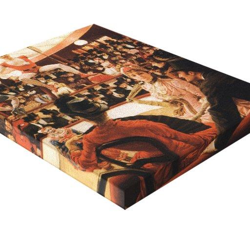 Mujeres de James Tissot- de París: El amante del c Impresiones En Lona