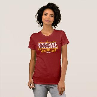 Mujeres de la camiseta del racismo de la línea