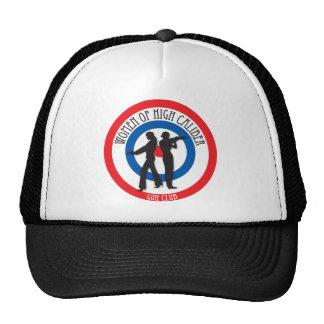 Mujeres del alto gorra del camionero del calibre