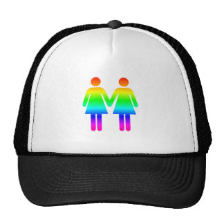 Mujeres del arco iris gorro