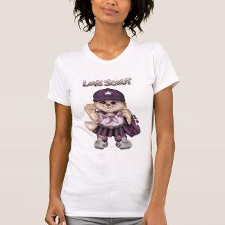Mujeres del CHICA del CAT del EXPLORADOR Camiseta