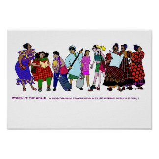 Mujeres del POSTER del mundo - 1
