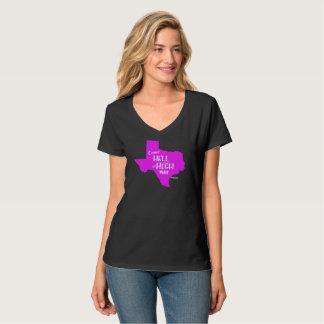 Mujeres fuertes de la camiseta de los #Texas del