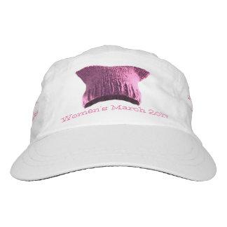 Mujeres gorra #1 del lema del gato del gatito del gorra de alto rendimiento