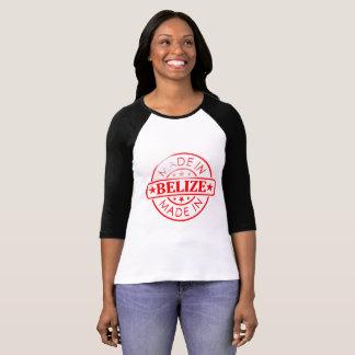 """Mujeres """"hechas en Belice"""" 3/4 camiseta del raglán"""