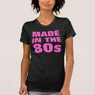 Mujeres hechas en los años 80 camisetas
