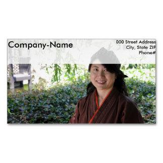 Mujeres japonesas tarjetas de visita magnéticas (paquete de 25)