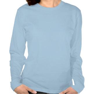 Mujeres libres del rezo elegantes camisetas
