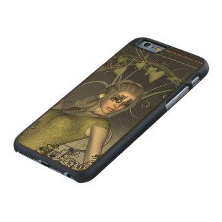 Mujeres maravillosas de la fantasía funda fina de arce para iPhone 6 de carved
