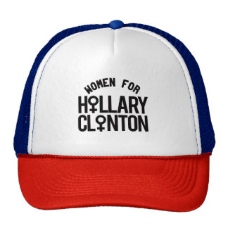 Mujeres para Hillary Clinton -- Elección 2016 - Gorro De Camionero
