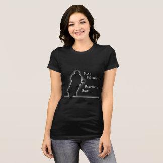 """""""Mujeres rápidas, camiseta de las bicis hermosas"""""""