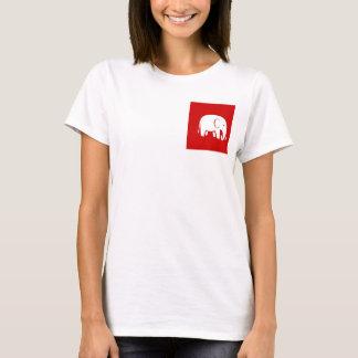 Mujeres republicanas para la camiseta del lema de