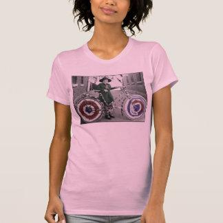 Mujeres retras 4tas del vintage del girl scout y camiseta
