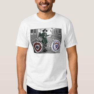 Mujeres retras 4tas del vintage del girl scout y camisetas