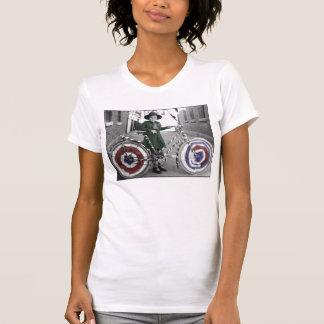 Mujeres retras 4tas del vintage del girl scout y d camiseta