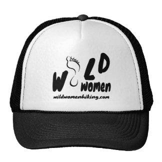 Mujeres salvajes que caminan el gorra