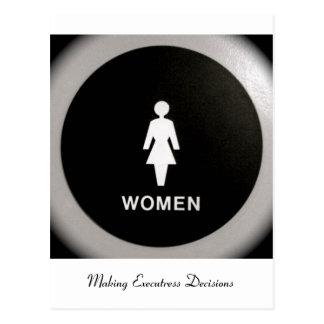 Mujeres - tomar las decisiones de Executress Postal