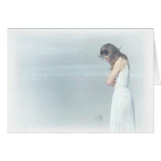 mujeres tristes tarjeta de felicitación