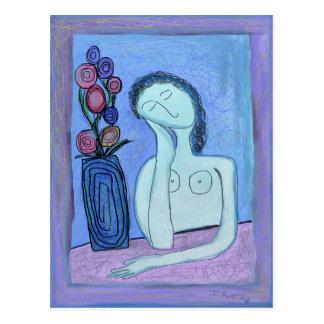 Mujeres y flores de Ian Roz Postal