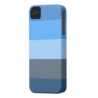 Multi-Azul iPhone 4 Funda